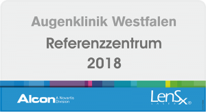 Augenklinik Westfalen - Alcon Referenzzentrum LensX 2018